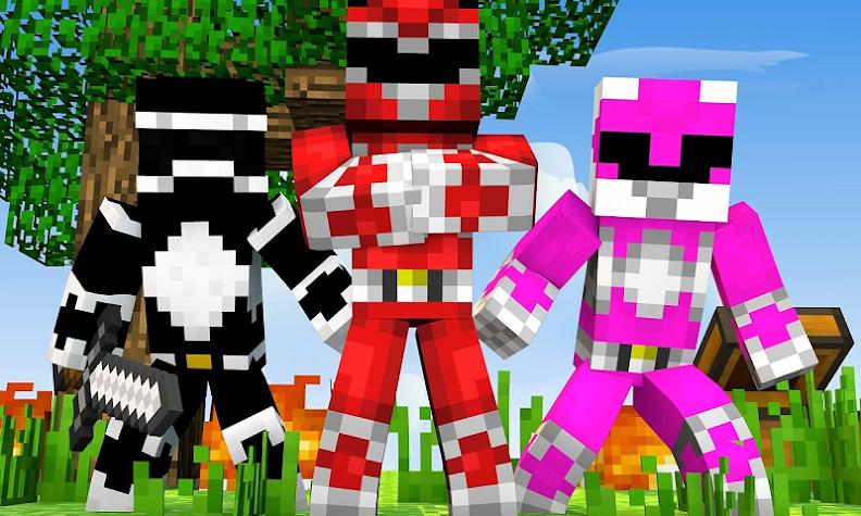 Five Power Friends Mod for MCPE Screenshot