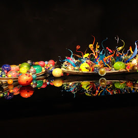Dale Chihuly Boats by Ada Irizarry-Montalvo - Artistic Objects Glass (  )