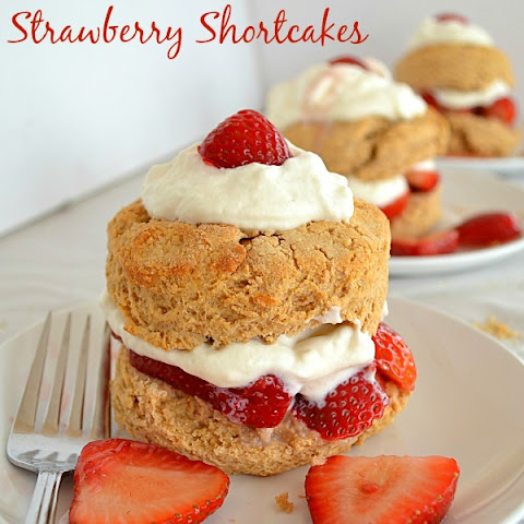 Whole Wheat Strawberry Shortcakes (Updated Version)