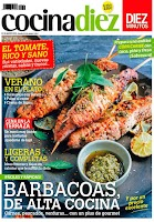 Screenshot of COCINA DIEZ Revista