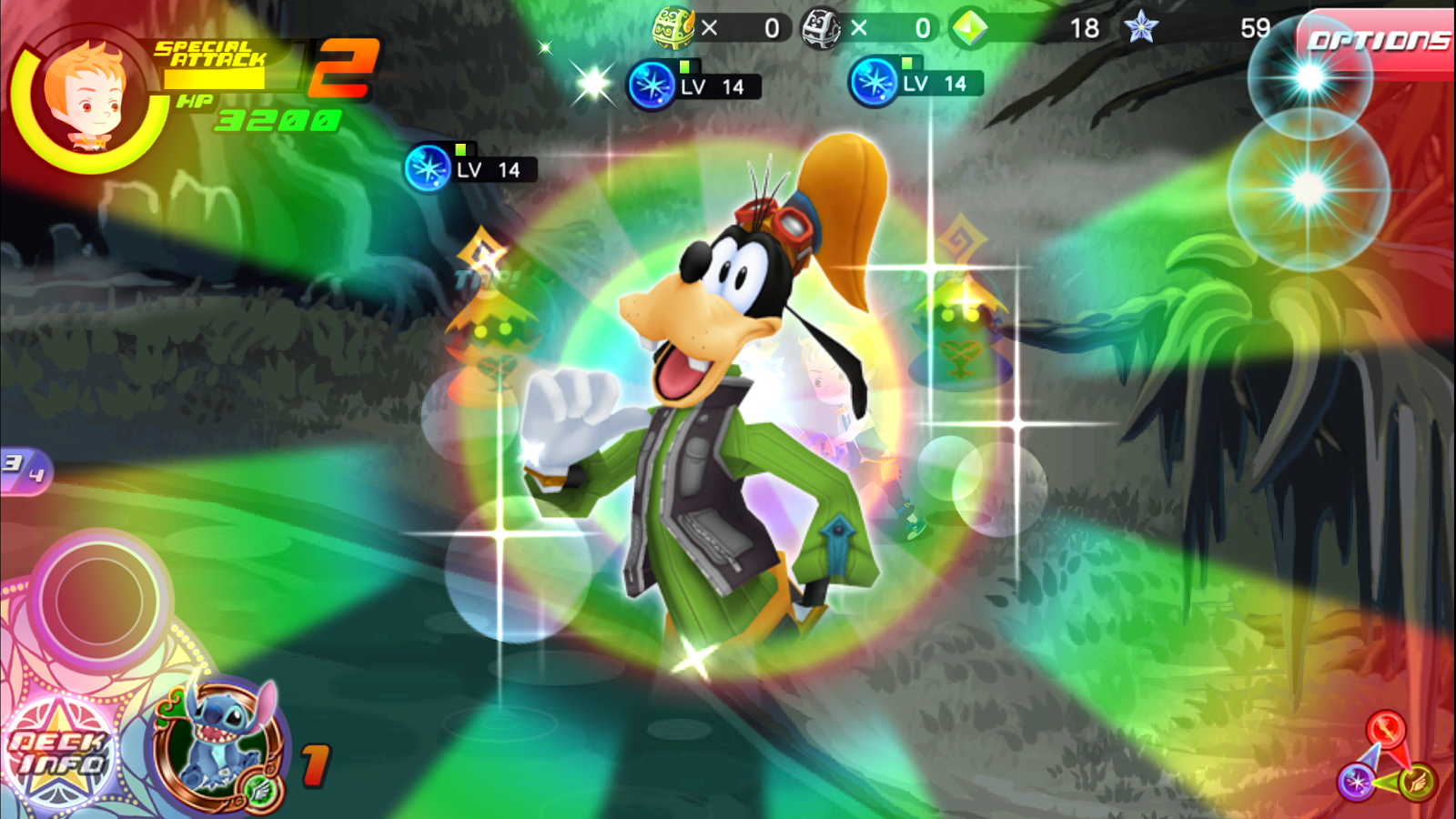 KINGDOM HEARTS Unchained χ Screenshot 14