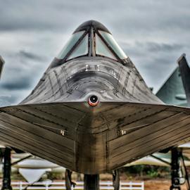 SR 71 Blackbird by Joe Saladino - Transportation Airplanes ( sr 71, surpesonic, airplane, aircraft )