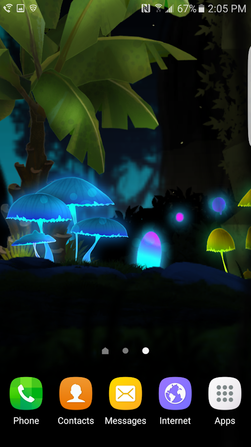 Fantasy Mushroom Jungle LWP Screenshot 6