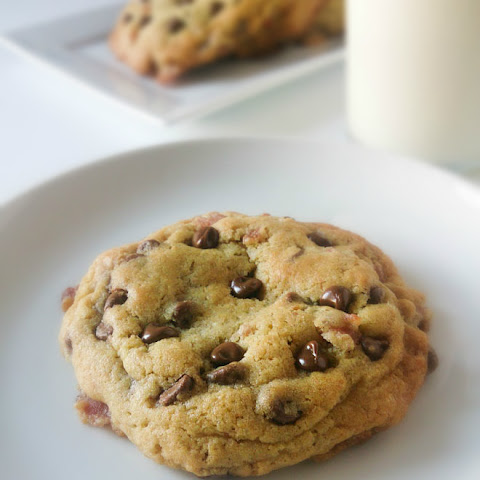 Bacon Caramel Chocolate Chip Cookies