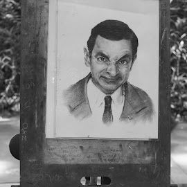 Mr. Bean by Nann Photos - City,  Street & Park  Street Scenes ( jlntar,  )