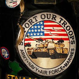 Veteran by Jebark Fineartphotography - Artistic Objects Clothing & Accessories ( army, veteran, viet nam, usa, war, man )