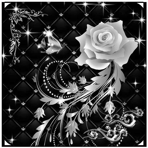 Rose Silver Diamond Love (app)
