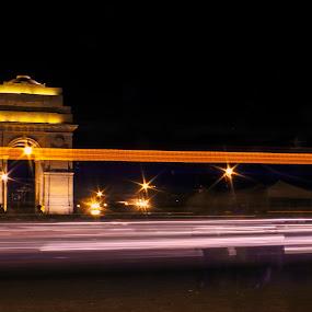 by Samrat Sam - City,  Street & Park  Night