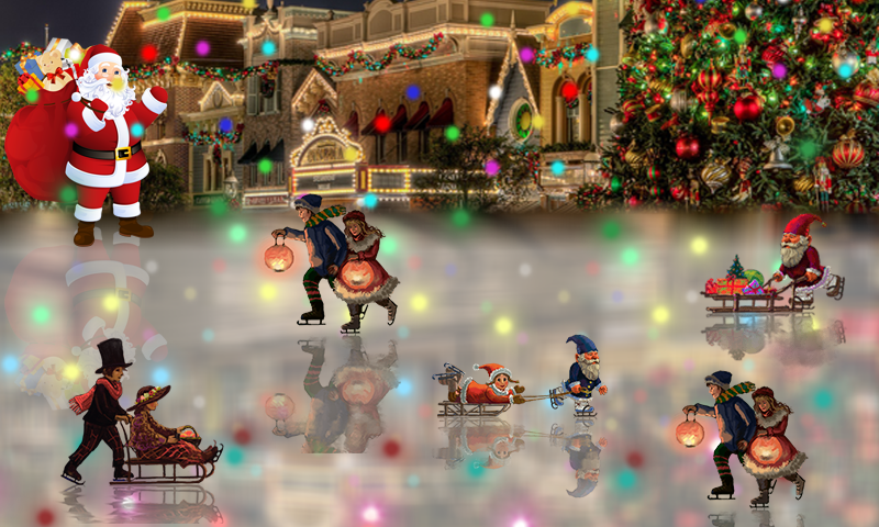 android Christmas Rink Live Wallpaper Screenshot 3