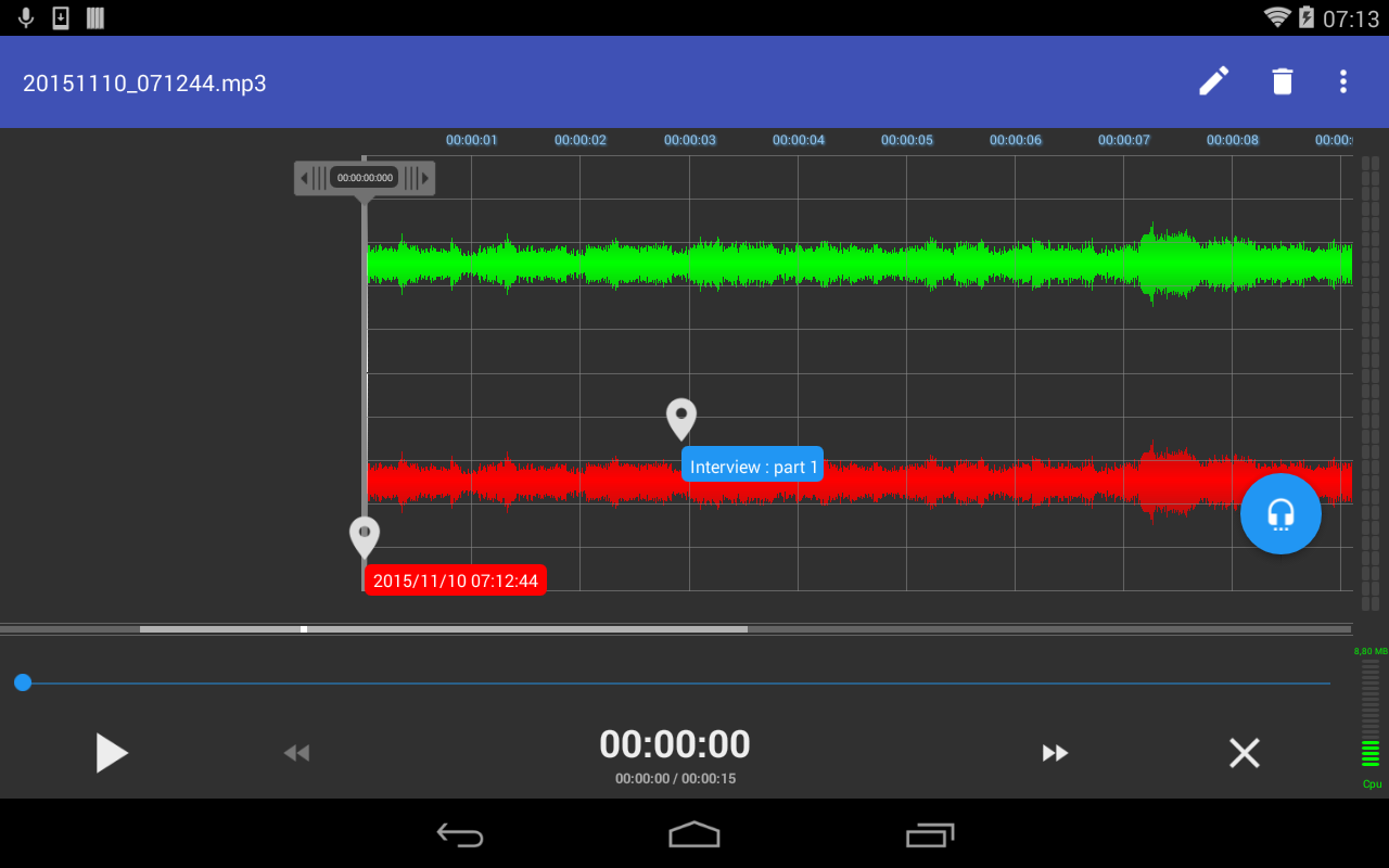 RecForge 2 Pro Audio Recorder Screenshot 10