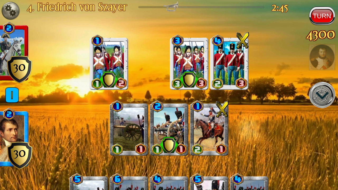 Napoleon War Cards Screenshot 2
