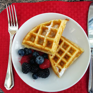 The Perfect Gluten-Free Waffle