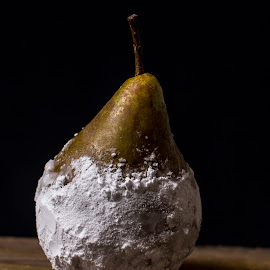 pear with flour by Mona Martinsen - Artistic Objects Still Life