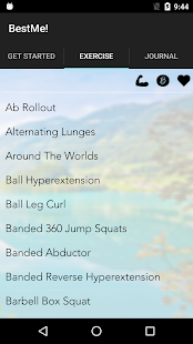 BestMe! by Caryn Nicole Fitness app screenshot 1 for Android