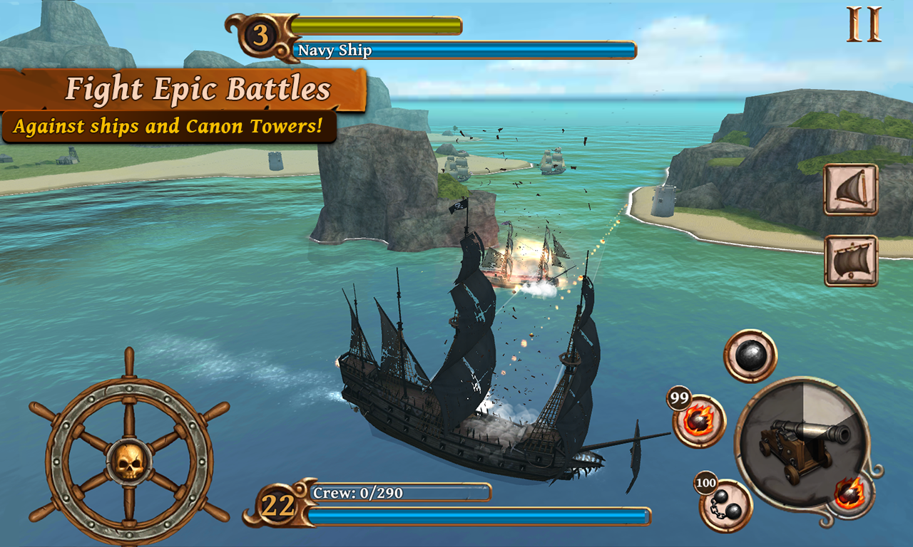 Ships of Battle: Age of Pirates Screenshot 13
