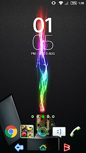 Theme - Neon - screenshot