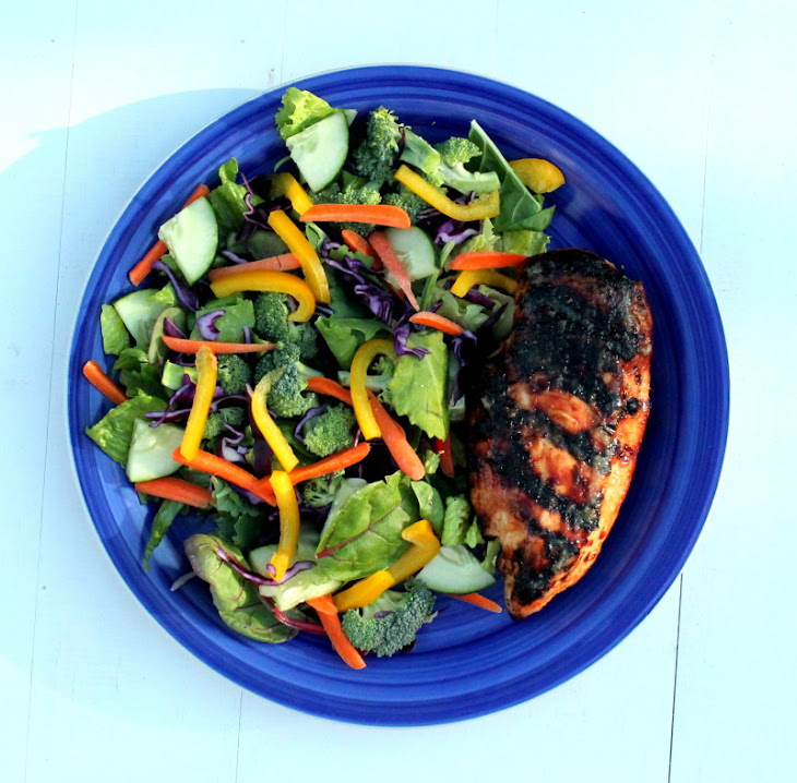 Sweet Chili Grilled Chicken Salad Recipe | Yummly