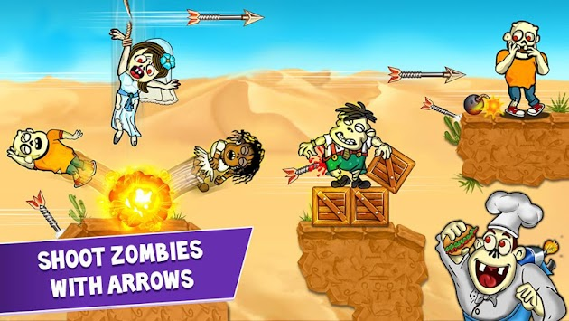 Archery Blitz - Shoot Zombies APK screenshot thumbnail 1