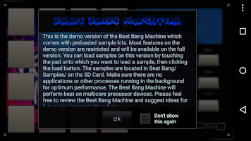 Screenshot of Beat Bang Drum Machine