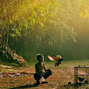 Activity in the morning by Haryadi Chalil - Babies & Children Children Candids