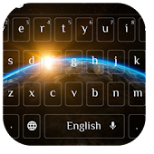Planet Earth Keyboard Theme APK for Bluestacks