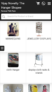 Vijay Novelty The Hanger Shop - screenshot
