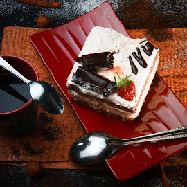Cake by Tommy Zen - Food & Drink Plated Food ( foods, cakes, still life, food photography )