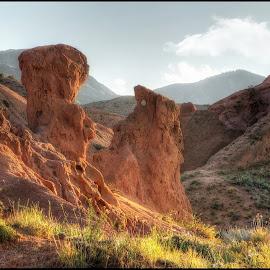 červené skály by Jana Vondráčková - Landscapes Mountains & Hills