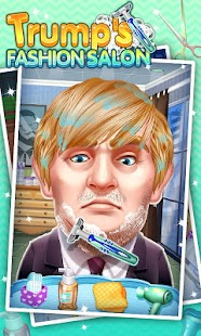 Game Hairstyles Trump Hair makeover apk for kindle fire