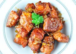 FISH MANCHURIAN - INDO CHINESE FISH RECIPE
