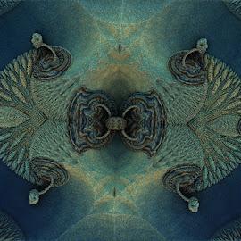 Locked beauty by Linda Czerwinski-Scott - Illustration Abstract & Patterns ( pattern, abstract art, illustration, fractals, design )