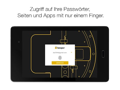 Keeper® Passwort-Manager Screenshot