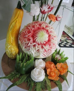 Fruit and Vegetables Carving - screenshot