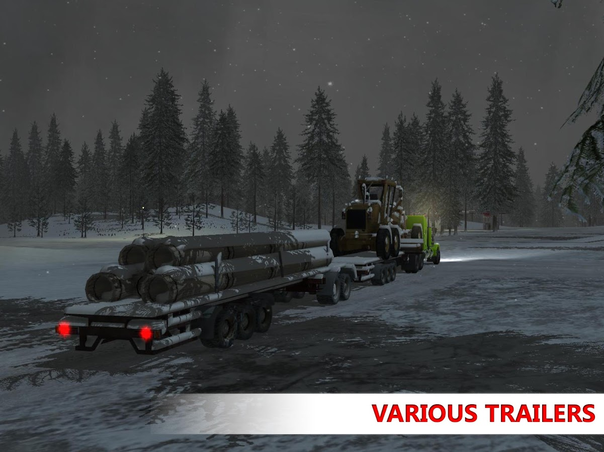 Arctic Trucker Simulator Screenshot 15
