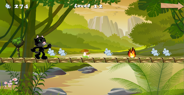 Tom And Cat Run Jump - screenshot