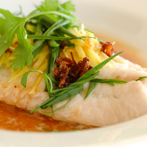 * Steamed Fish – Cantonese Style