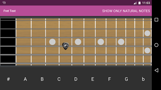 Fret Test - screenshot