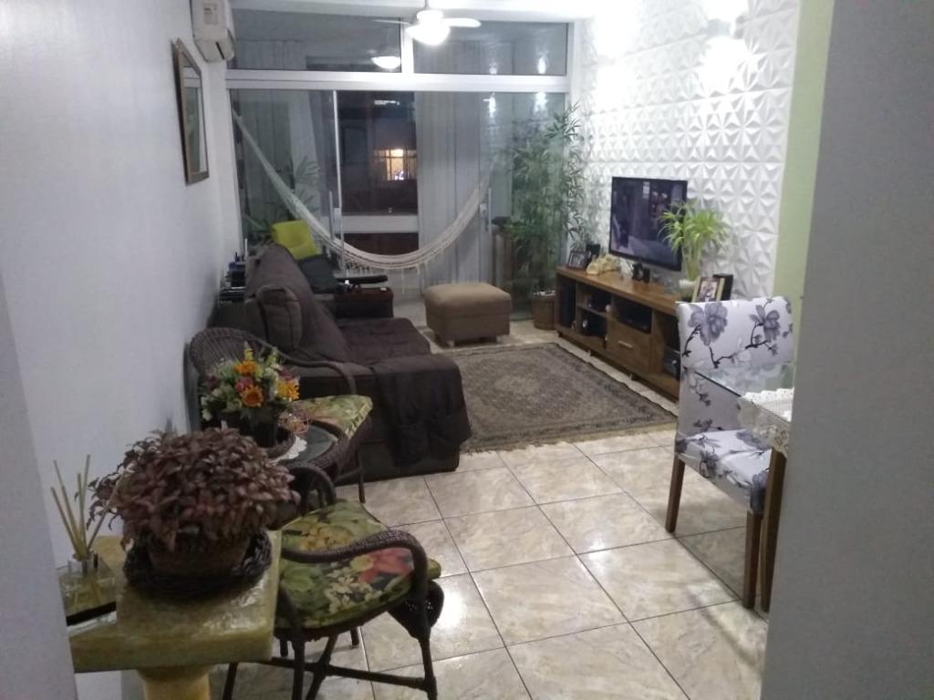 Apartamento com 3 dormitórios à venda, 100 m²  Laranjeiras - Rio de Janeiro/RJ