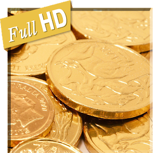 Falling Coins Wealth 3D LWP for PC-Windows 7,8,10 and Mac