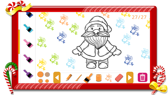 Christmas Coloring Book Frozen - screenshot