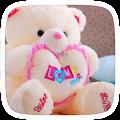 App Love Cute Teddy Theme apk for kindle fire