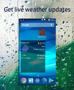 Free Live GPS Weather, Forecast & Widgets