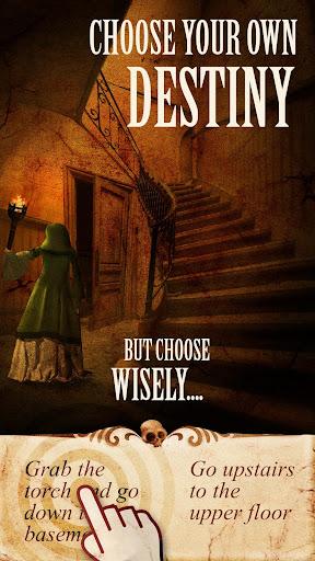 Cursed App: Horror Gamebook - screenshot