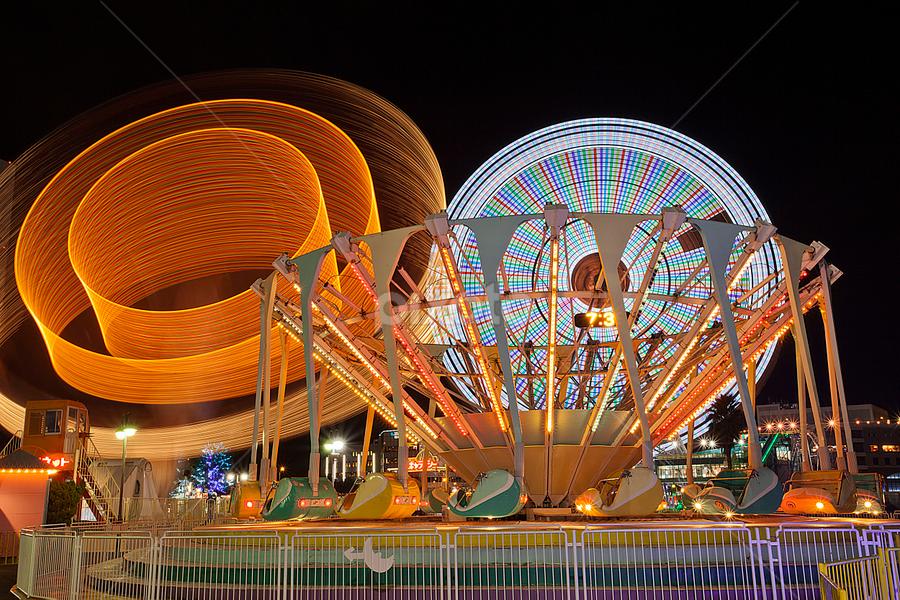 Kanransha by Ketut Pujantara - City,  Street & Park  Amusement Parks
