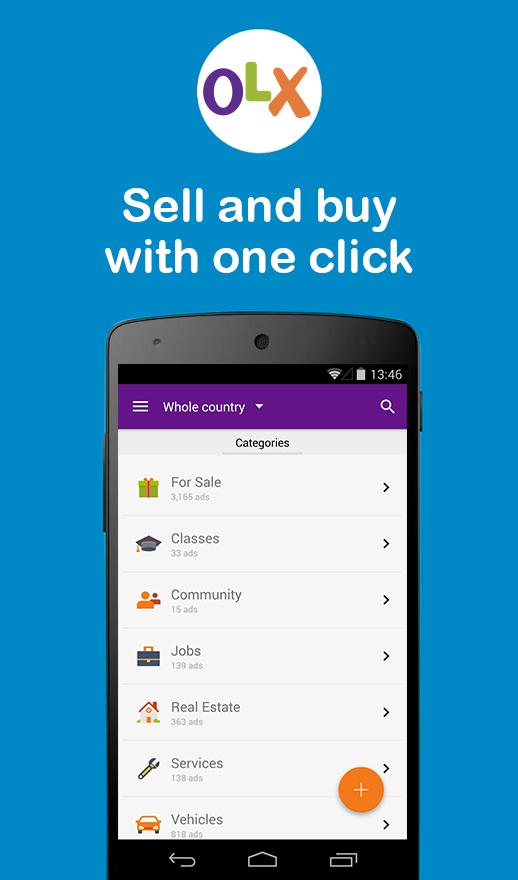 OLX Kenya Sell Buy Cars Jobs Screenshot