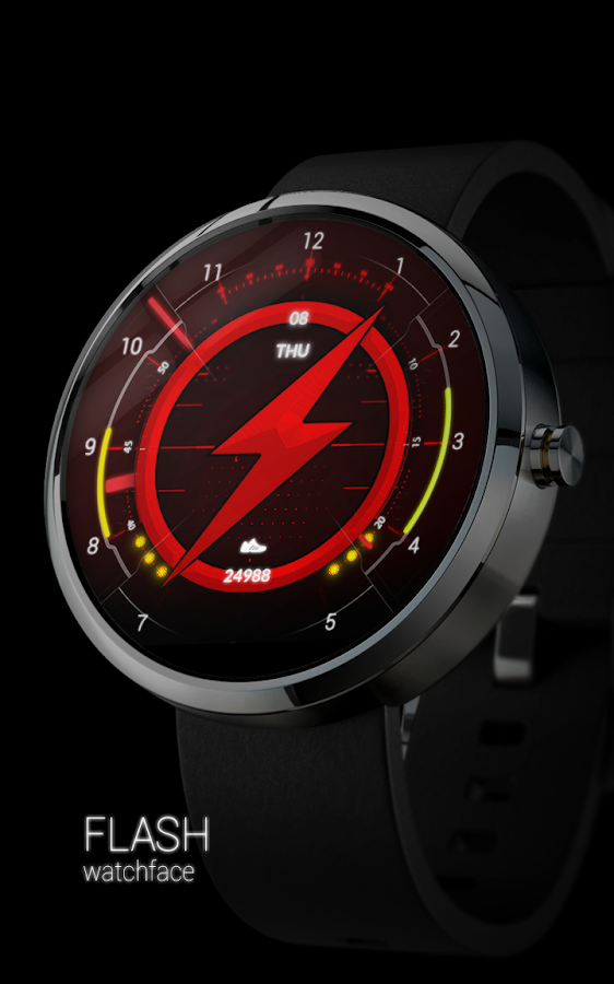 FLASH - Watch Face Screenshot 9