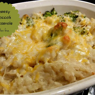 Cheesy Broccoli Casserole – #glutenfree