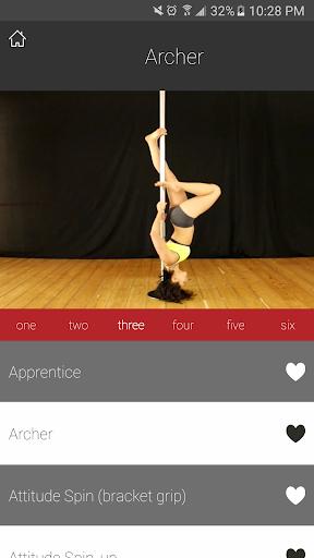 PDC Pole Dance Syllabus - screenshot