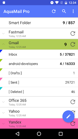 Aqua Mail Pro 1.7.1-113 Stable Stable APK