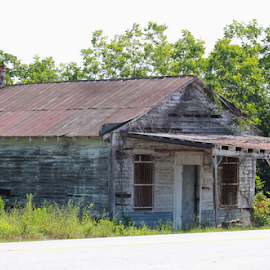 Old Roadside Store by Terry Linton - Buildings & Architecture Decaying & Abandoned